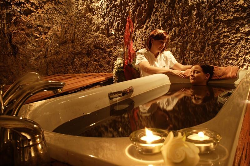 прием нафталановых ванн