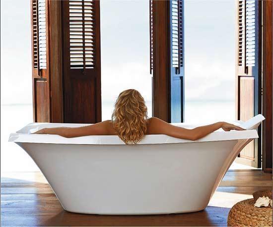 время принятия ванн