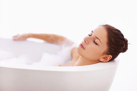 принятие ванны при температуре
