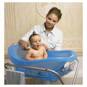 принятие ванны ребенком