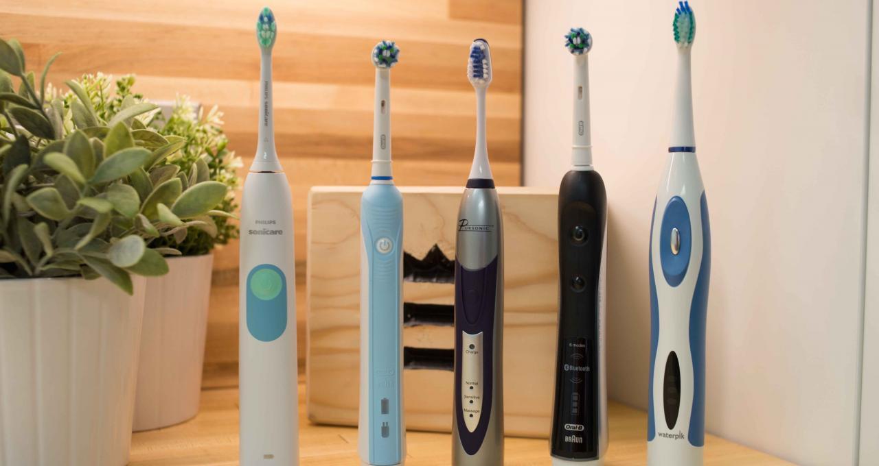 различие в электрических зубных щетках