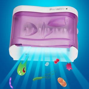 излучение ультрофиолета в стерилизаторе зубных щеток