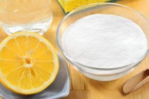 сода с лимоном в отбеливание зубов