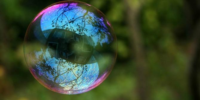 мыльный пузырь на улице
