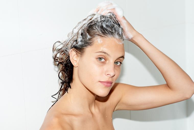 использование ополаскивателя для волос