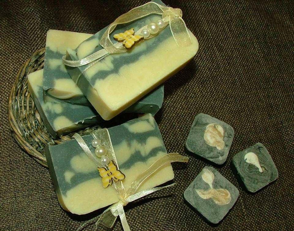 мыло домашнее приготовленое из детского мыла