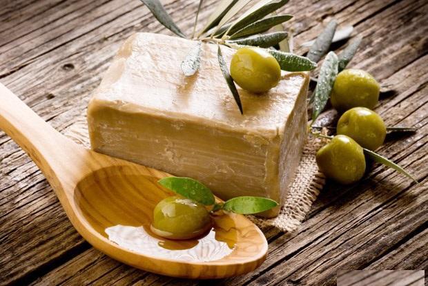 кастильское мыло с добовлением оливкового масла