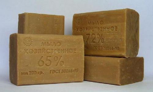 хозяйственое мыло с различным поцентом жирности