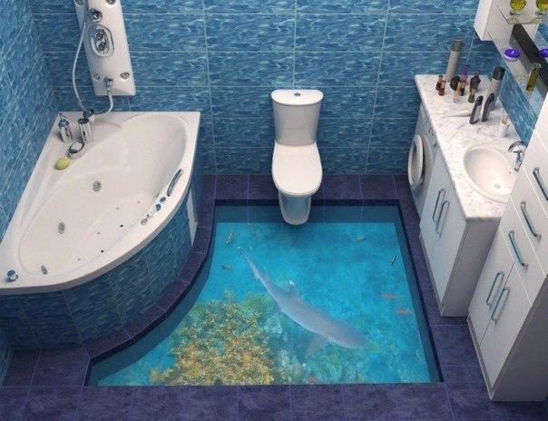 полы в ванной