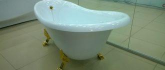 ванна чугунная большого размера