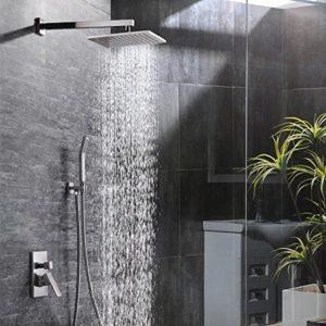 напор воды в тропическом душе