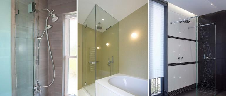 выбор душевых перегородок для ванной комнаты