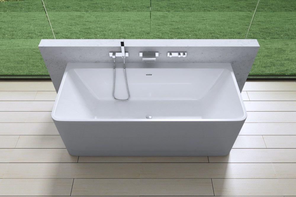 крепление акриловой ванны