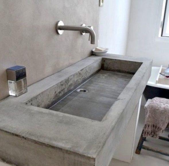 Раковина из бетона своими руками