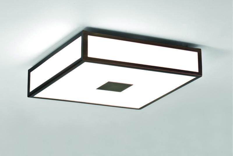 Плафонный потолочный светильник в ванную