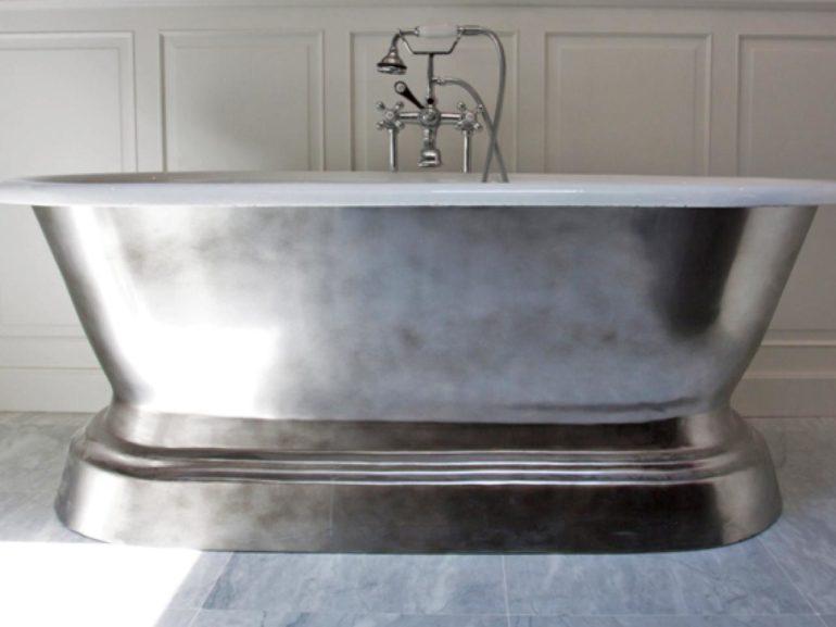 Как отбелить старую чугунную ванну