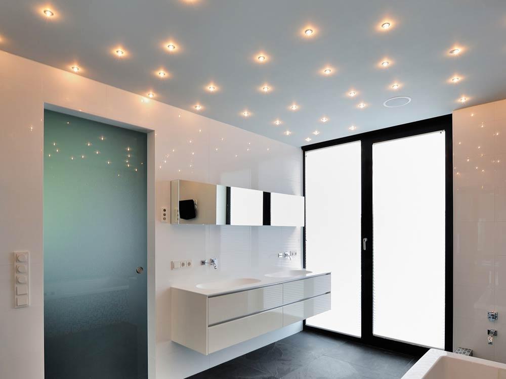 Галогенные светильники в ванную