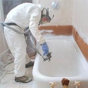 Очистка старой ванны