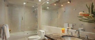 Светодиодные потолочные светильники для ванной