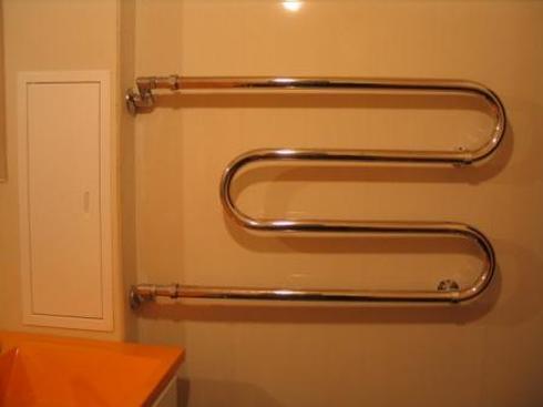 полотенцесушитель водяной с боковым подключением