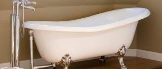 Слив перелив для ванны