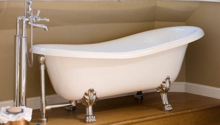 Слив для ванной: устройство и монтаж