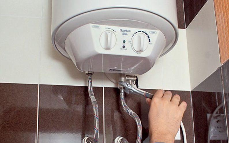 Течет водонагреватель
