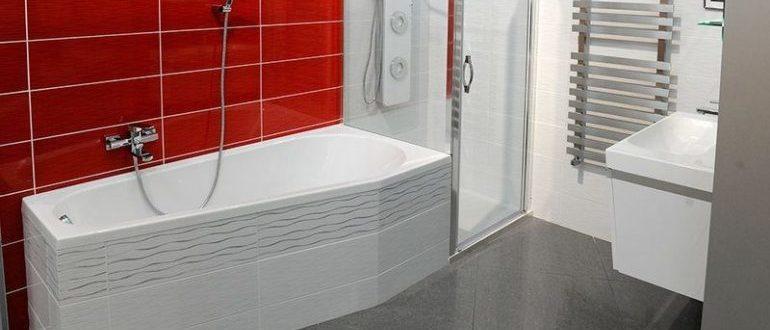 Ванна стальная асимметричная