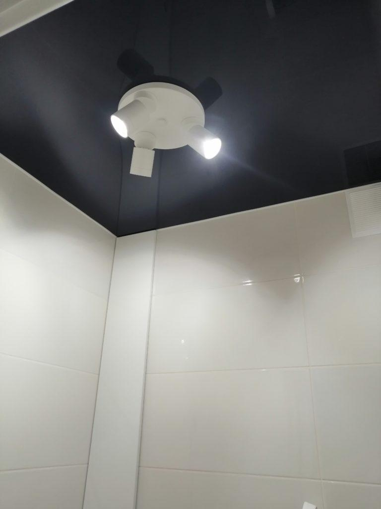 синтй потолок в туалете