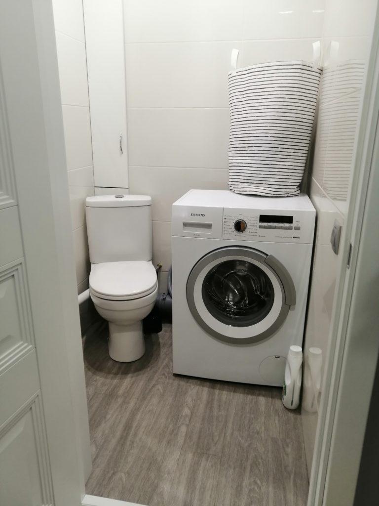 туалет со стиралкой